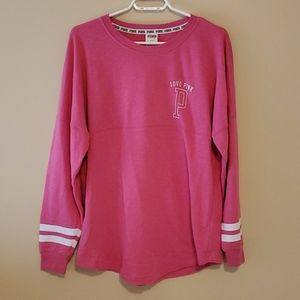 Victoria secret pink long sleeve t size s
